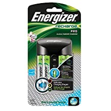 Energizer Pro Charger (AA/AAA), Includes 4 AA Batteries 1-Count