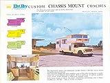 1968 Del Rey Skylounge Motorhome RV Brochure