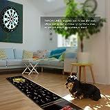 CyeeLife Rubber Dart Mat Length 295cm,Width 65cm