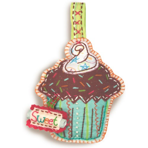 Dimensions Needlecrafts Handmade Embroidery, Cupcake Ornament