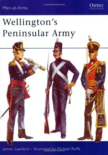 Wellington's Peninsular Army (Men-at-Arms) by James Lawford - Mall Shopping Wellington