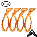 #2: Cooper GTV Drain Snake Clog Remover, 4 Pack Drain Cleaner Hair Drain Clog, 20 Inch Tube Drain Cleaning Tool for Sink