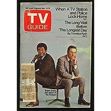TV GUIDE 11/13/1971-DON ADAMS/SUE ANE LANGDON/HEISMAN G
