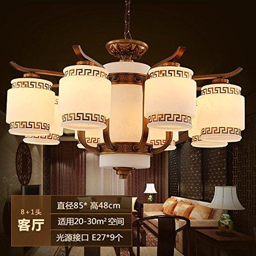 Soggiorno cinese atmosferica creativo retrò lampadario illuminazione ...