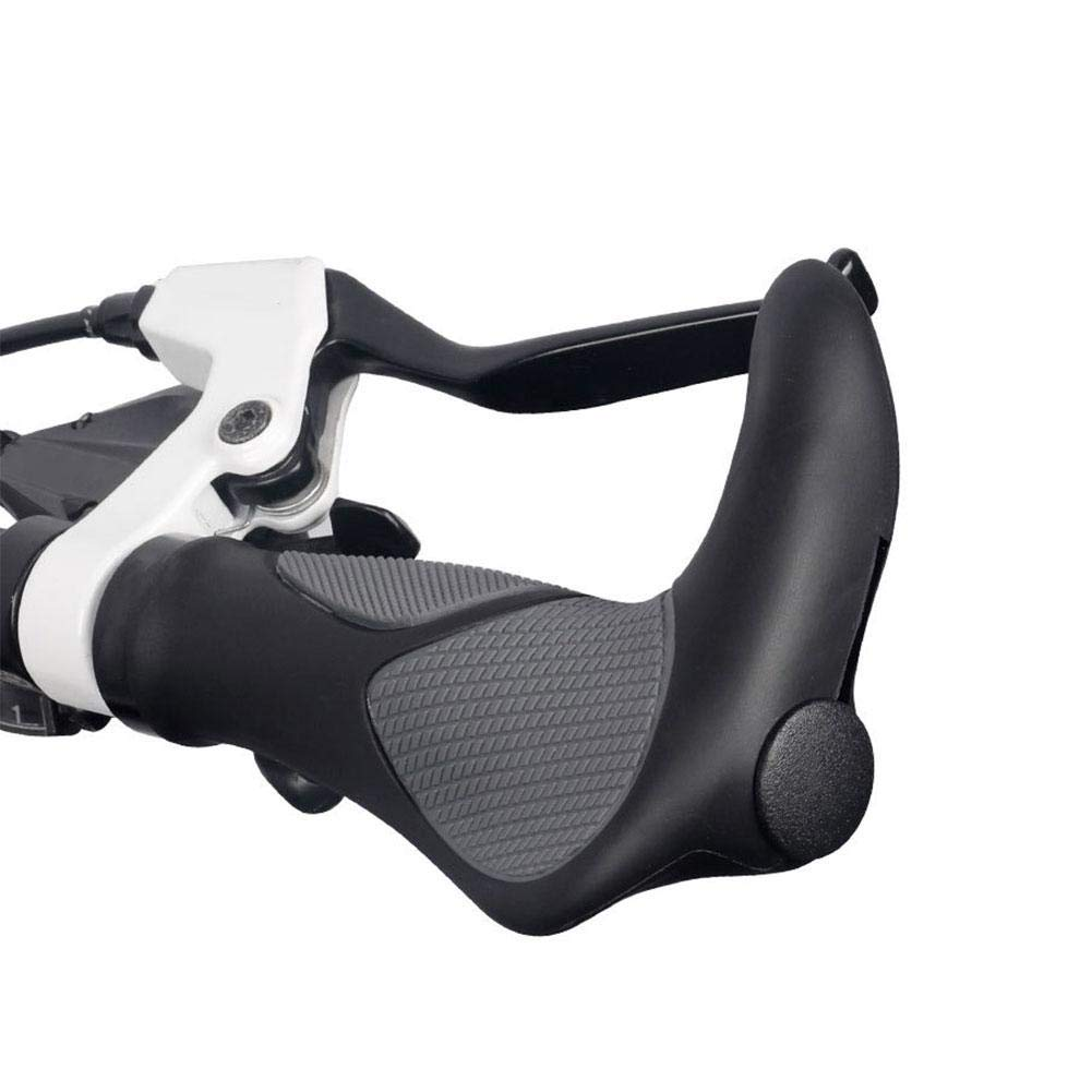 Empu/ñadura Antideslizante para Manillar de Bicicleta MTB BMX tama/ño Bike Grips(with Horns) Color 1 sPuPart