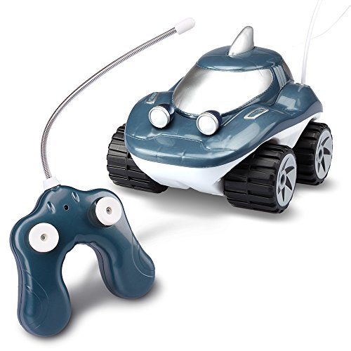 Kid Galaxy Amphibious RC Car Morphibians Shark. Remote Control Toy, 49 - Control Remote Car Gator