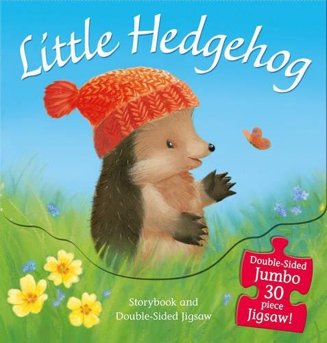 Little Hedgehog: Storybook and Double-Sided Jigsaw (Hedgehog Little)