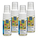 Manuka Health MGO 400+ Manuka Honey & Bio30 Nz Propolis Throat Spray 30ml 100% Pure New Zealand Honey & Bee Propolis (Pack of 4)