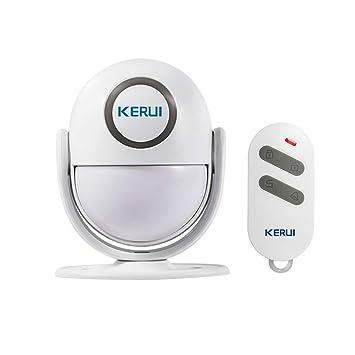 Festnight Detector de Movimiento PIR Inteligente inalámbrico Detector de Alarma Detector de Infrarrojos iOS/Android App Control Sistema de Alarma de ...