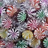 Assorted Fruit Starlight Mints Candy 1LB Bag