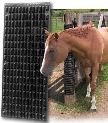 Shires Equestrian Pferde-Kratzspielzeug, Schwarz, Einheitsgröße