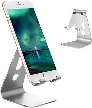 Soporte Móvil,Vkaiy Universal de Aluminio Teléfono Soporte Dock ...