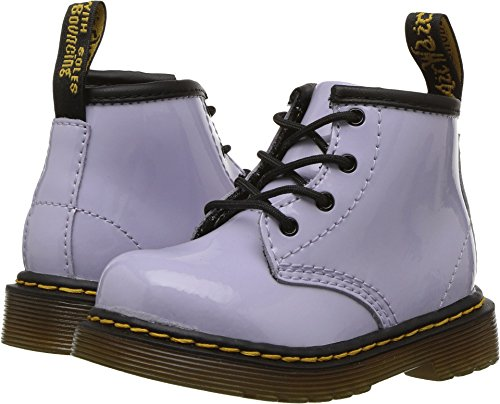 Dr. Martens Kid's Collection Baby Girl's Brooklee B (Toddler) Purple Heather Patent Lamper 5 M UK
