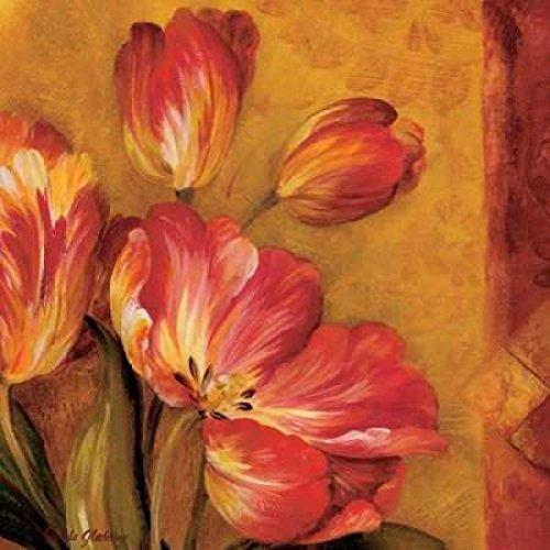 - Posterazzi Pandoras Bouquet III Poster Print by Pamela Gladding, (24 x 24)