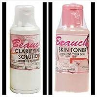 2 (Pack) Beauche ~ Clarifying Solution & Skin Toner