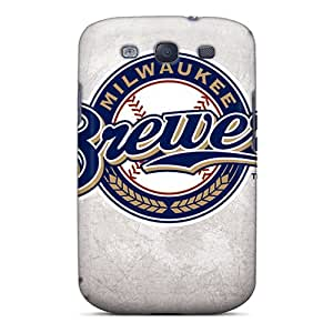 CassidyMunro Galaxy S3 Shock-Absorbing Hard Phone Cases Allow Personal Design High-definition Milwaukee Brewers Pictures [sEW11541RxGj]