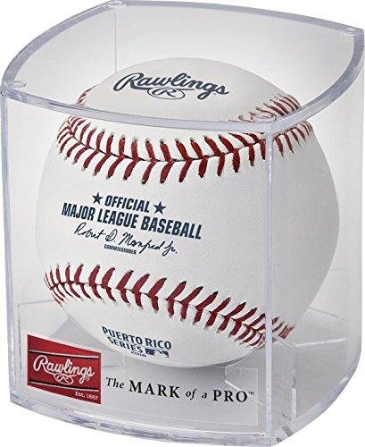 Puerto Rico Mlb - Rawlings Official Puerto Rico Series San Juan MLB Game Baseball Indians Twins - Cubed