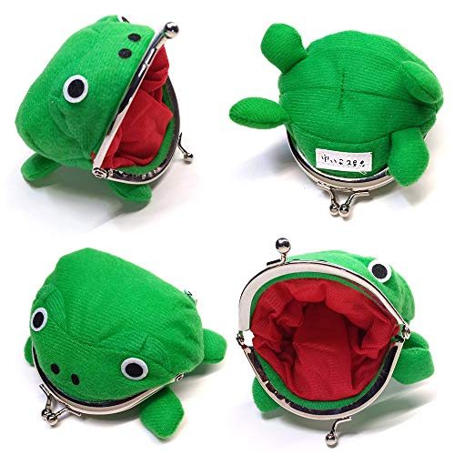 Avias Knife Supply Cute Frog Coin Wallet Cosplay Anime Naruto Plush Purse (Naruto Wallets For Men)