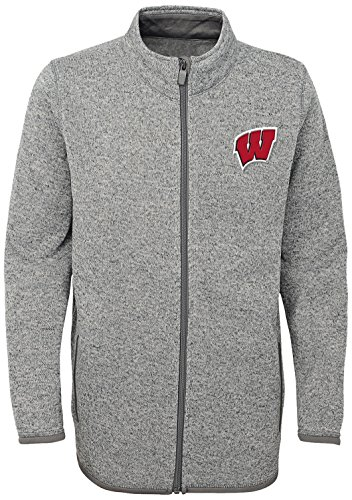 Wisconsin Badgers Fleece - OuterStuff NCAA Wisconsin Badgers Adult Men