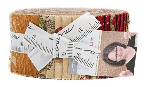 Cotton Candy Quilt Shop (Kathy Schmitz Oak Grove Lane Jelly Roll 40 2.5-inch Strips Moda Fabrics 7000JR)