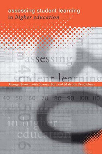 Assessing Student Learning in Higher Education