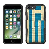 Apple iPhone 7 Armor Hybrid Case Greek Vintage Flag 2 Piece Case with Holster for Apple iPhone 7