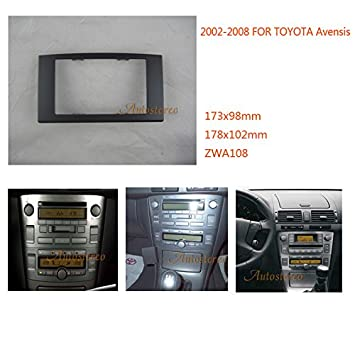 autostereo 11 - 108 - Embellecedor para radio de coche panel Adapter Plate Trim Surround: Amazon.es: Coche y moto
