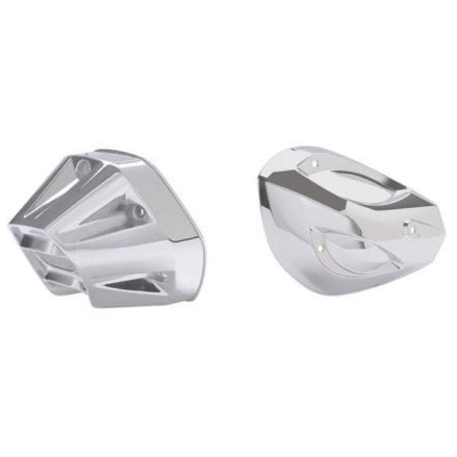 Can-Am 219400260 Chrome Exhaust Tip and Heat Shield