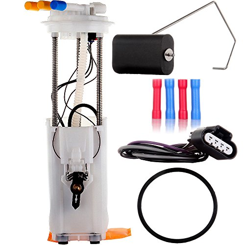 Fuel Pump, Module Assembly for 1997 1998 1999 2000 2001 2002 Chevrolet Chevy Blazer GMC Jimmy V6 4.3L Electric w/Sending Unit Replacement E3954M