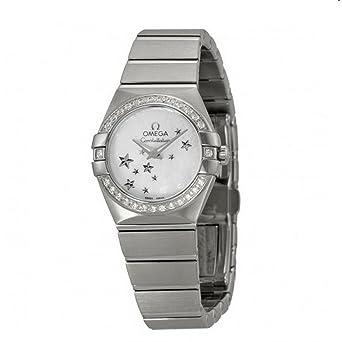 bdb0473932d Omega Constellation brushed quartz 123.15.24.60.05.003  Amazon.es  Relojes