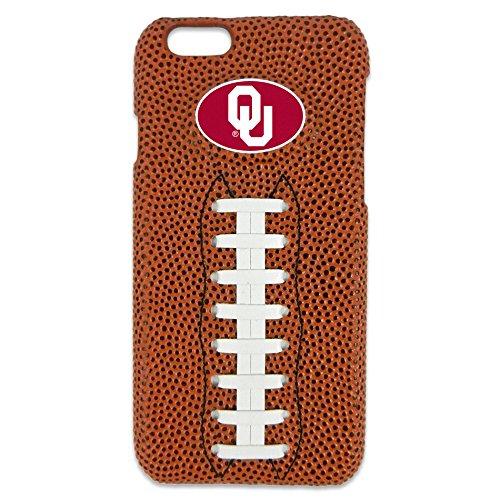 GameWear NCAA Oklahoma Sooners Classic Football iPhone 6 Case, Brown - Pebble Oklahoma Sooners