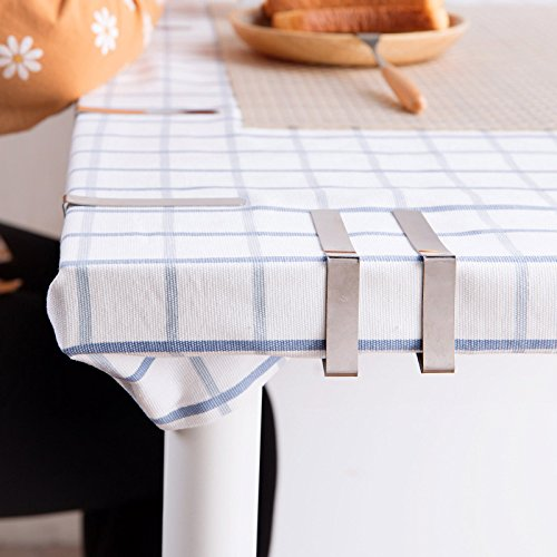 Alamic Tablecloth Clips Picnic Table Clips Stainless Steel Picnic - Stainless steel picnic table