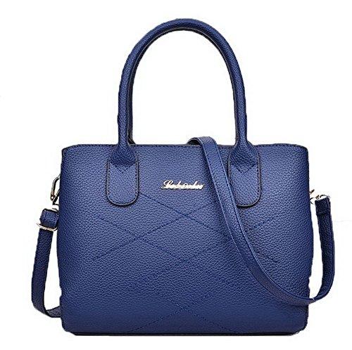 femmes pour Voguezone009 glissière à Life Daily bandoulière Sacs bleues à Fermetures fSqxqI1w