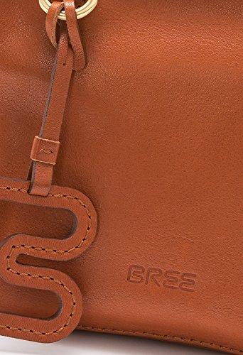 BREE - Bolso cruzados para mujer Gris gris 18 cm x 16cm x 8 cm (B x H x T) Whisky