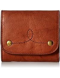 Campus Rivet Medium Snap Leather Wallet