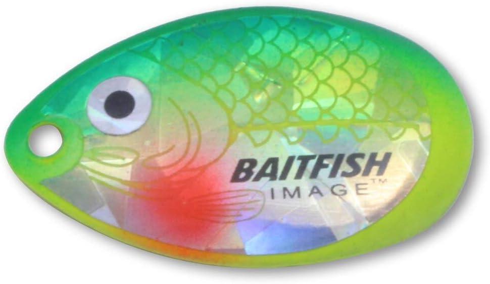 Baitfish-Image® Blades Northland Fishing Tackle Size #4 Gold Shiner