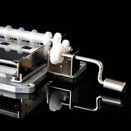 Faway Spieluhr, 30 Töne, handgekröpft, handgekröpft, handgekröpft, mit Locher und Papierbändern 521277