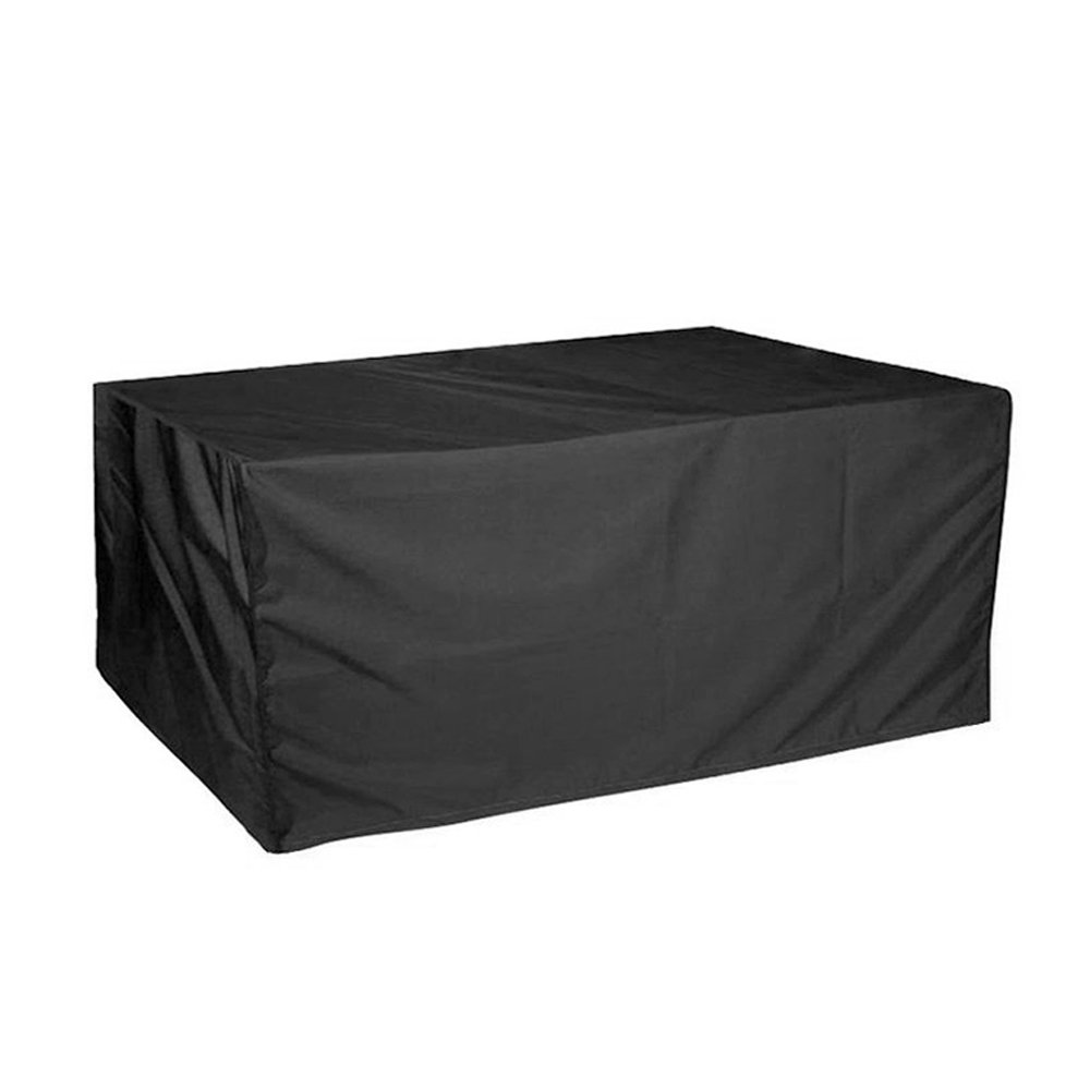 ERAY Patio Garden Furniture Cover Waterproof Durable Outdoor Rectangular Table and Chair Protective Covers (106'' x 70'' x 35'', Black)