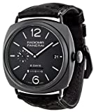 Panerai Mens PAM00384 Radiomir Analog Display Swiss Automatic Black Watch