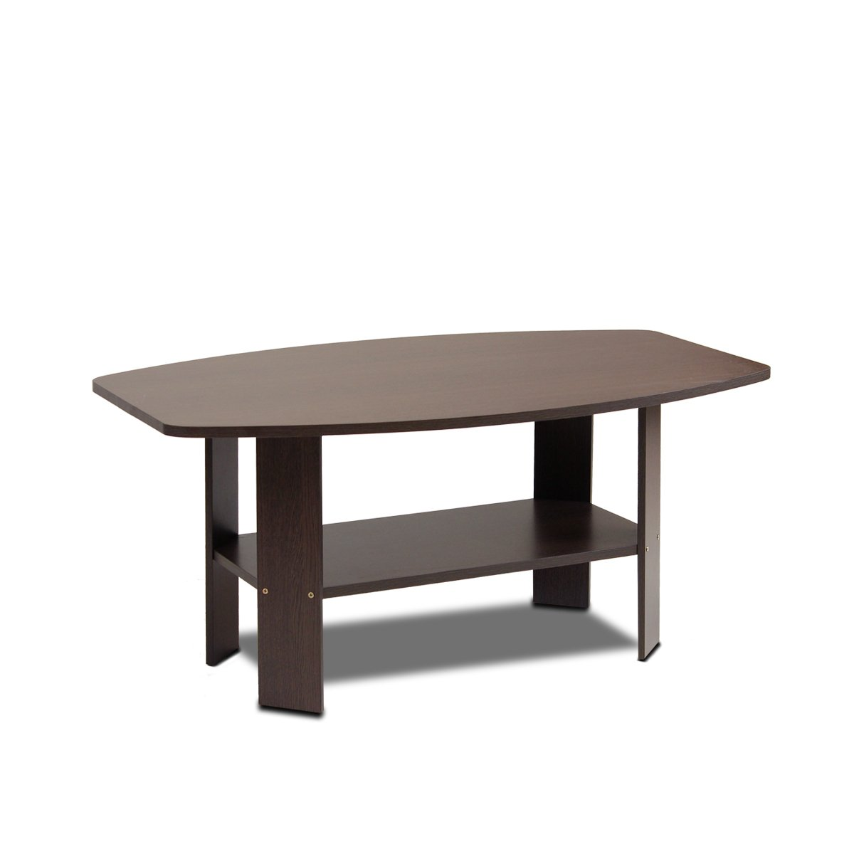 Amazon.com: Furinno 11179DBR Simple Design Coffee Table, Dark Brown:  Kitchen U0026 Dining