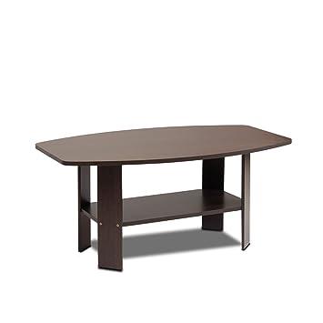 Amazoncom Furinno DBR Simple Design Coffee Table Dark - Furinno coffee table