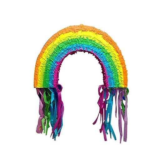 Nishci Rainbow Piñata - Artículos de Fiesta de cumpleaños ...