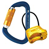 Fusion Climb Carabiner Belay Combo Pack Blue Gold