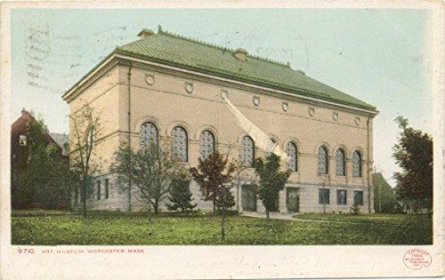 1898 Fine Art - Historic Pictoric Postcard Print | Art Museum, Worcester, Mass, 1898 | Vintage Fine Art