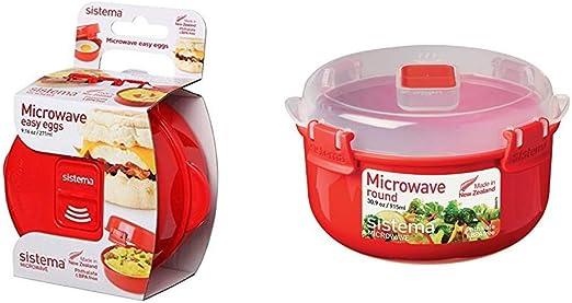 Sistema Apta para microondas f/ácil de huevos 270 ml cocinar tortilla