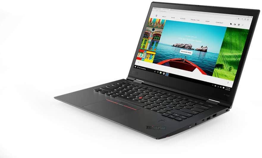 "Lenovo ThinkPad X1 Yoga (3rd Gen) 14"" WQHD 2560x1440 2-in-1 Laptop/Tablet PC, Intel Core i5-8350U 1.70GHz, 8GB LPDDR3 2133MHz, 256GB PCIe-NVME SSD, Windows 10 Pro"