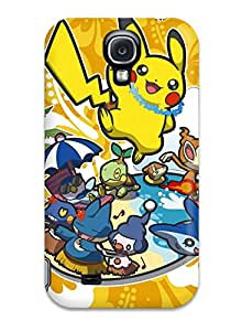 Snap-on Pokemon Case Cover Skin Compatible With Galaxy S4
