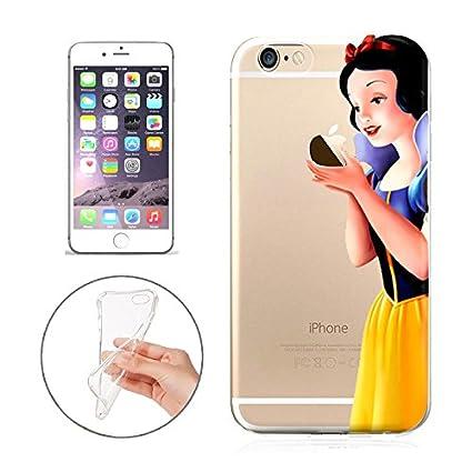De dibujos animados Minnie princesa Stitch sirena caso para iPhone
