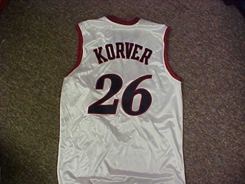 Kyle Korver Philadelphia 76ers White Home Game Jersey