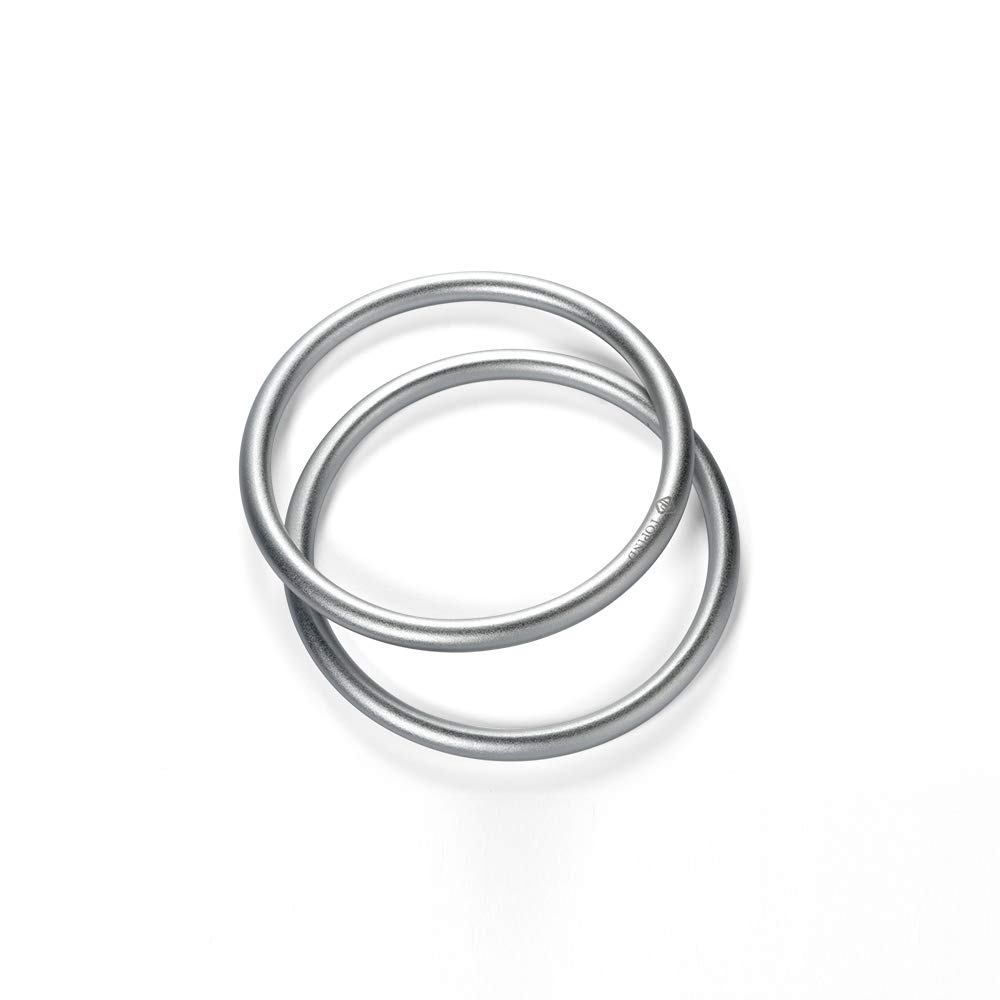Topind 3 Large Size Aluminium Baby Sling Rings for Baby Carriers /& Slings of 2 pcs Silver